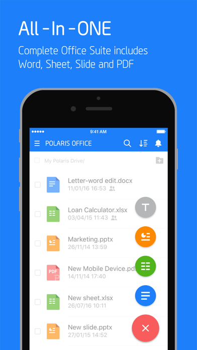 Polaris Office - PDF & Docs Screenshot
