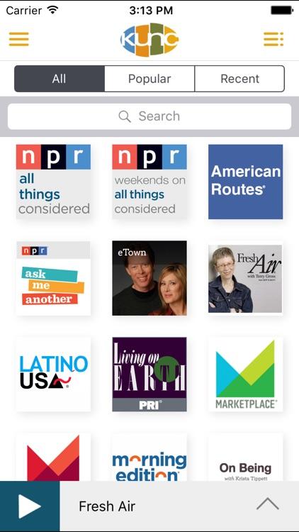 KUNC Public Radio App screenshot-3