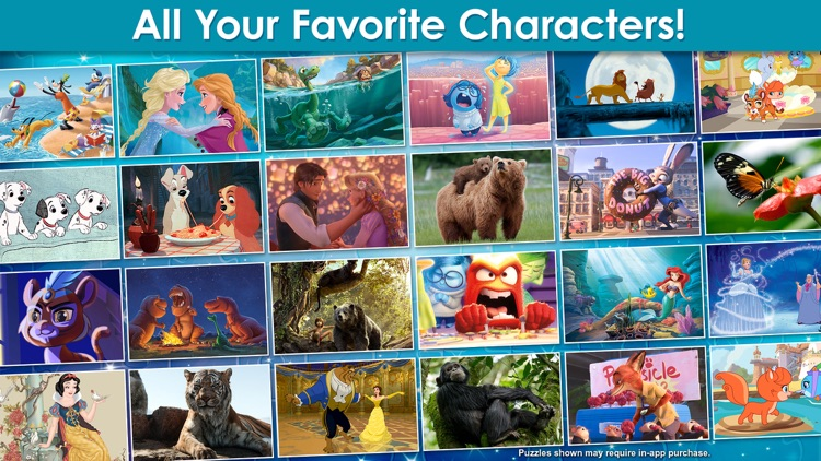 Disney Jigsaw Puzzles! screenshot-3