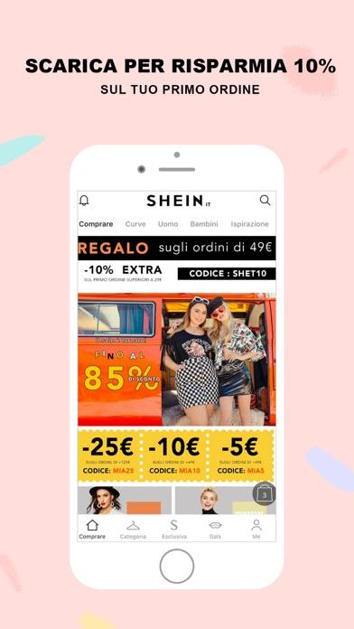 Screenshot for SHEIN - Moda e shopping in Italy App Store