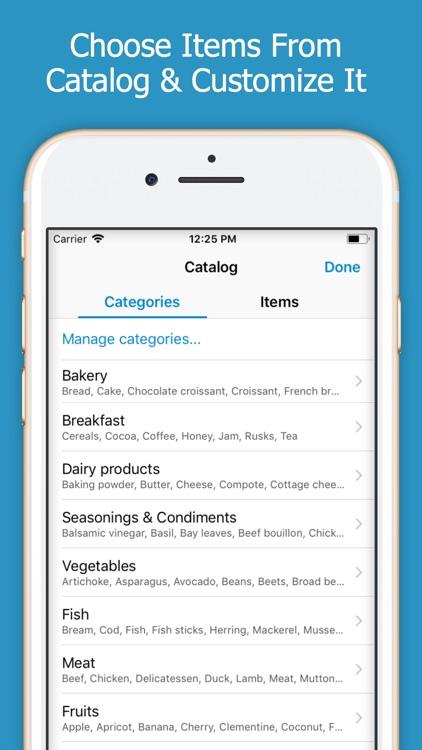 Shoppylist (Shopping List) screenshot-4