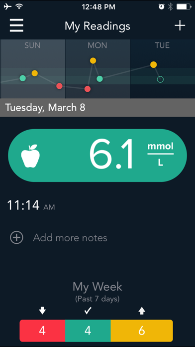 CONTOUR DIABETES app (UK) screenshot two