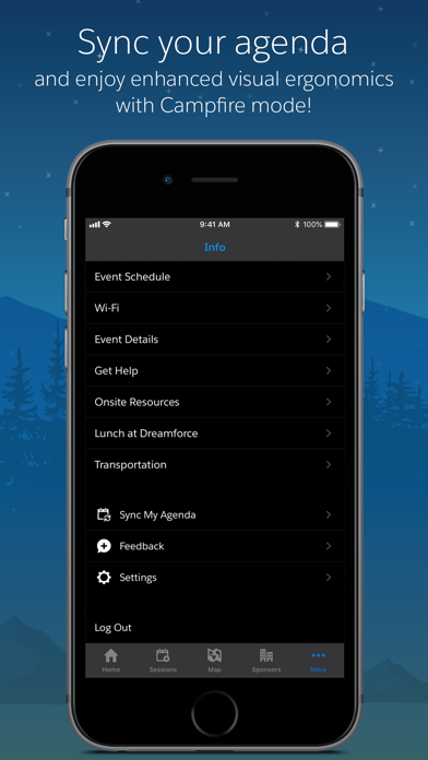 messages.download Salesforce Events software