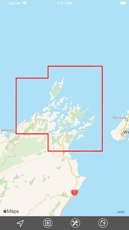 Marlborough Sounds (NZ) GPS screenshot-4