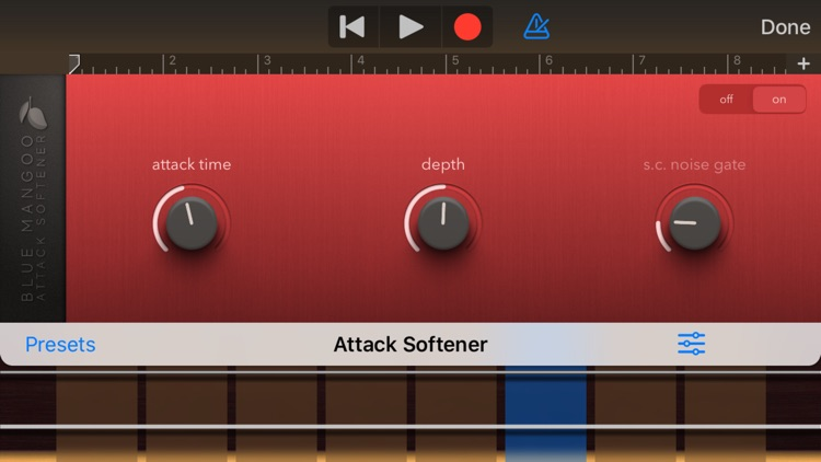 Attack Softener