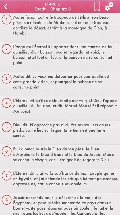 La Sainte Bible en Français screenshot-3