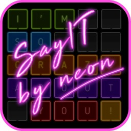 Neon texts - Say IT! by neon