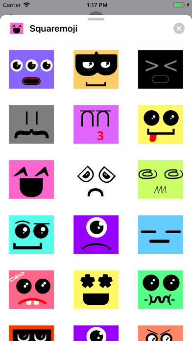 Squaremoji screenshot 1