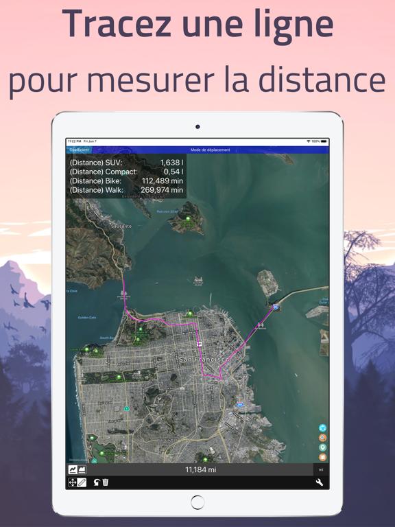 Screenshot #4 pour Distance - Dessiner Sur Mesure