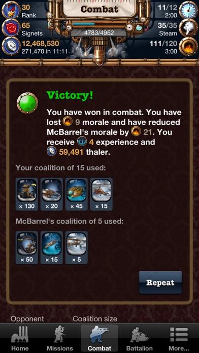Steampunk Game Mobile screenshot four