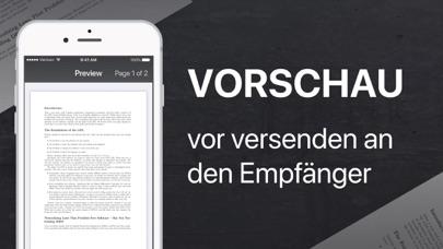 FAX app - Fax SendenScreenshot von 3