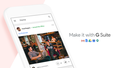 Screenshot for Google+ for G Suite in Czech Republic App Store