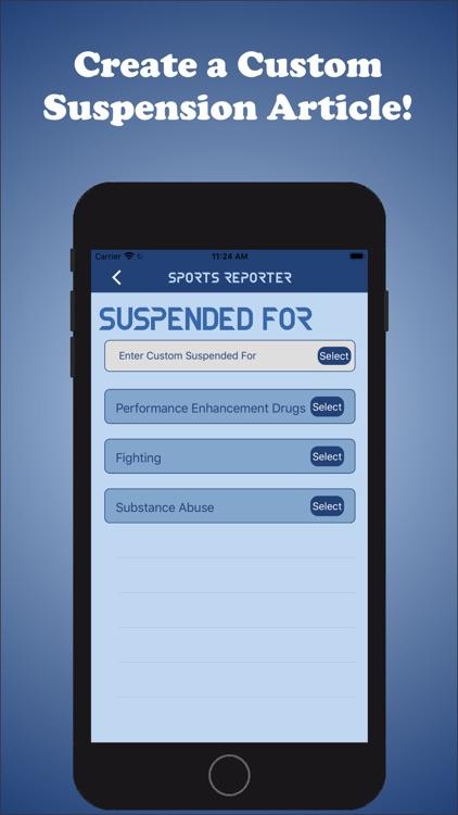 Sports Reporter screenshot-8