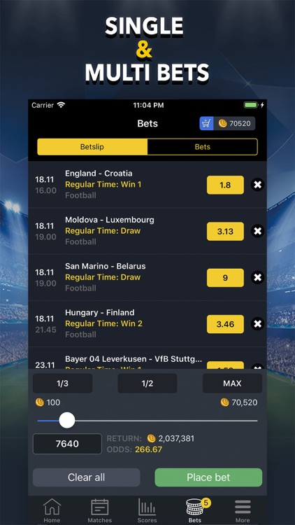 Betting on sports games betting markets 2021 military