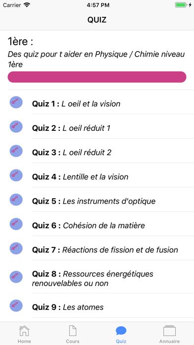 Physique Première ES screenshot 5