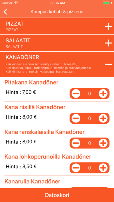 Kampus Kebab & Pizzeria screenshot 3