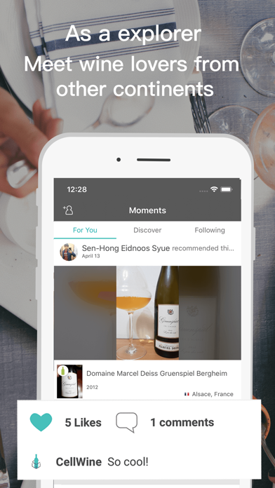 CellWine: Scan, Save, Share screenshot