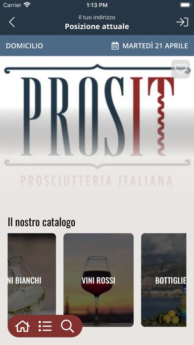 Prosit Prosciutteria Italiana screenshot 2