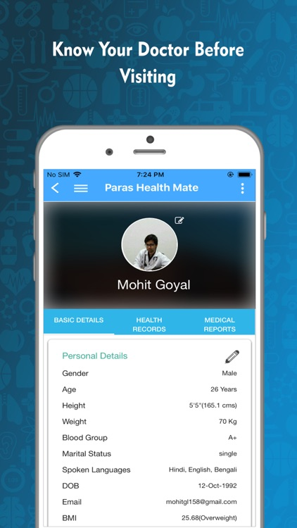 Paras Health Mate screenshot-1