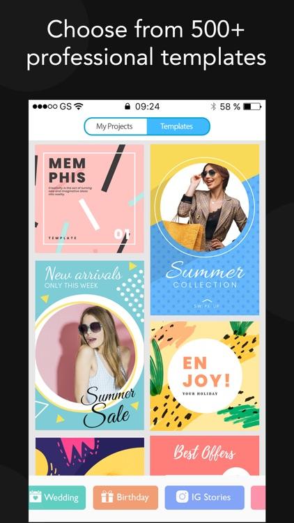 Desyne - Poster Maker+ screenshot-3