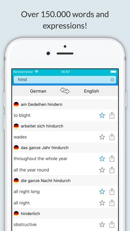 English German Dictionary +