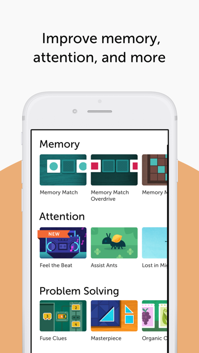 Screenshot for Lumosity: Brain Training in Viet Nam App Store