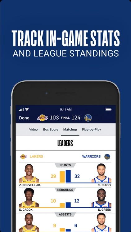 NBA: Official App screenshot-5