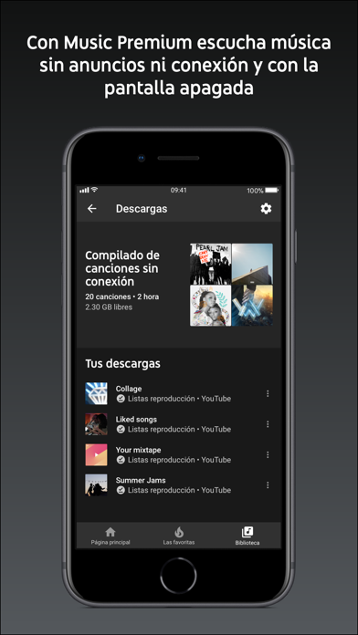 Screenshot for YouTube Music in Mexico App Store
