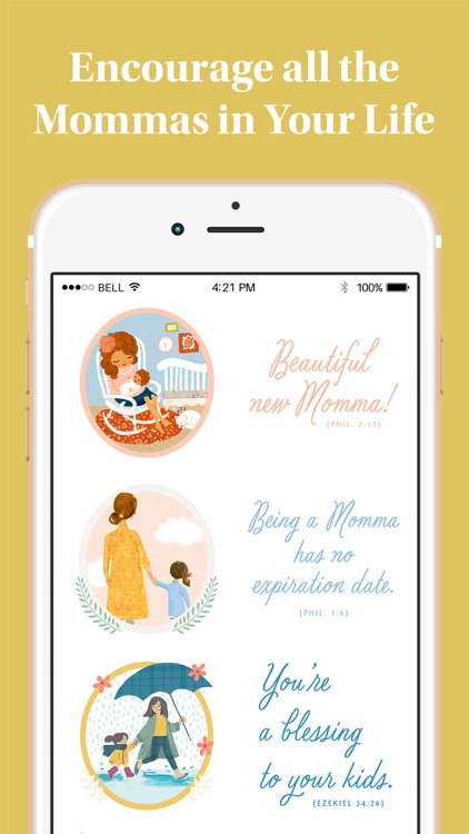 DaySpring Hey Momma! Stickers screenshot-3