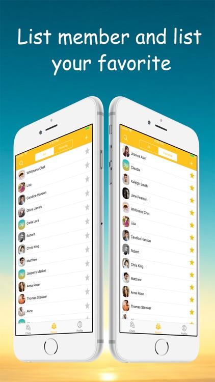 Sky Chat Lock screenshot-3