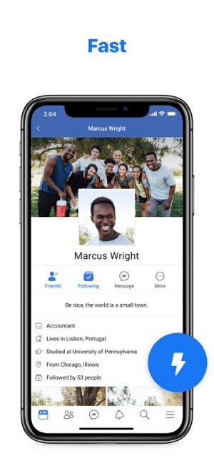 Facebook Lite on the App Store