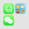 App Icon for Stickers and Emoji for Facebook, WeChat and WhatsApp Pack II App in Italy IOS App Store