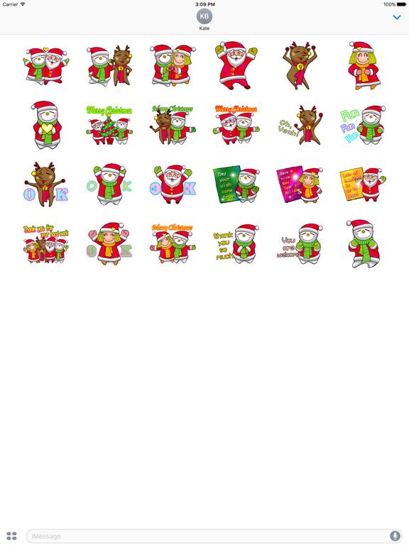 Animated Happy Santa Claus Gif screenshot 5