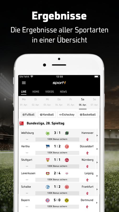 Sport1 Sport Fussball News 应用信息 Ios App基本信息