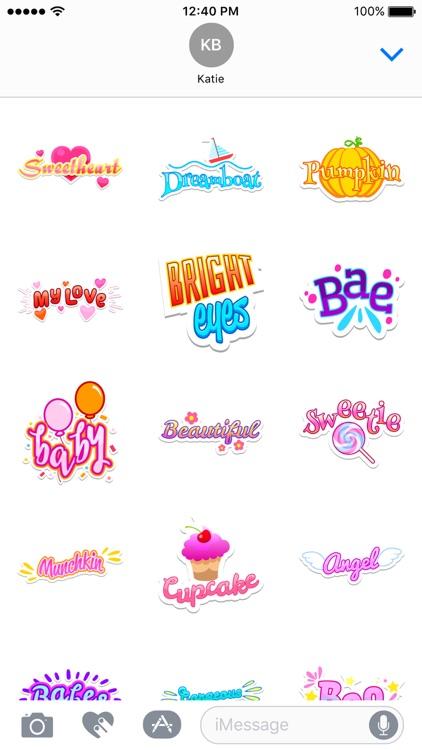 Honey Stickers screenshot-4