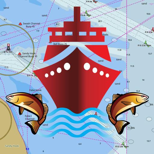 i-Boating:CAN+US Marine Charts