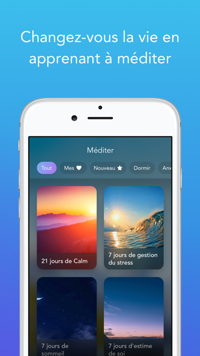 Calm pour Android