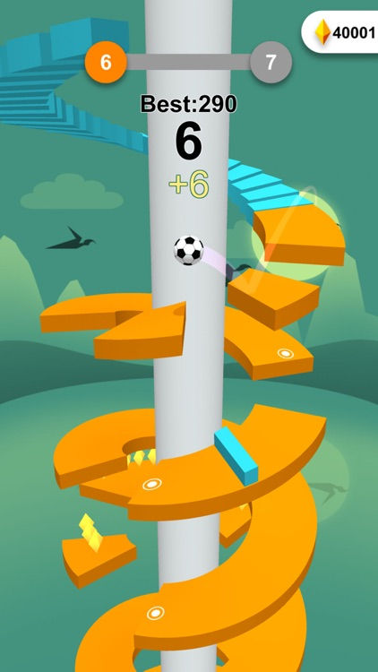 Jump Ball-Bounce On Tower Tile screenshot-3