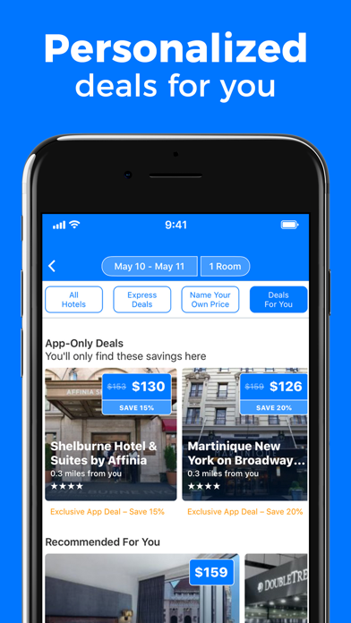 Priceline Travel review screenshots
