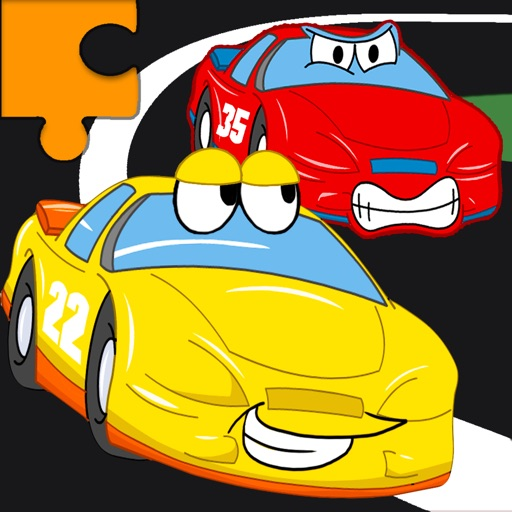 Cars Jigsaw Puzzles for Kids iOS App
