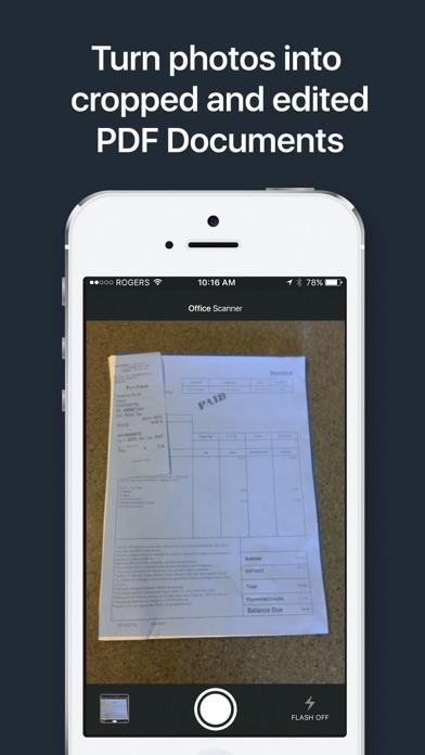 Office Scanner Quick Crop PDF screenshot two