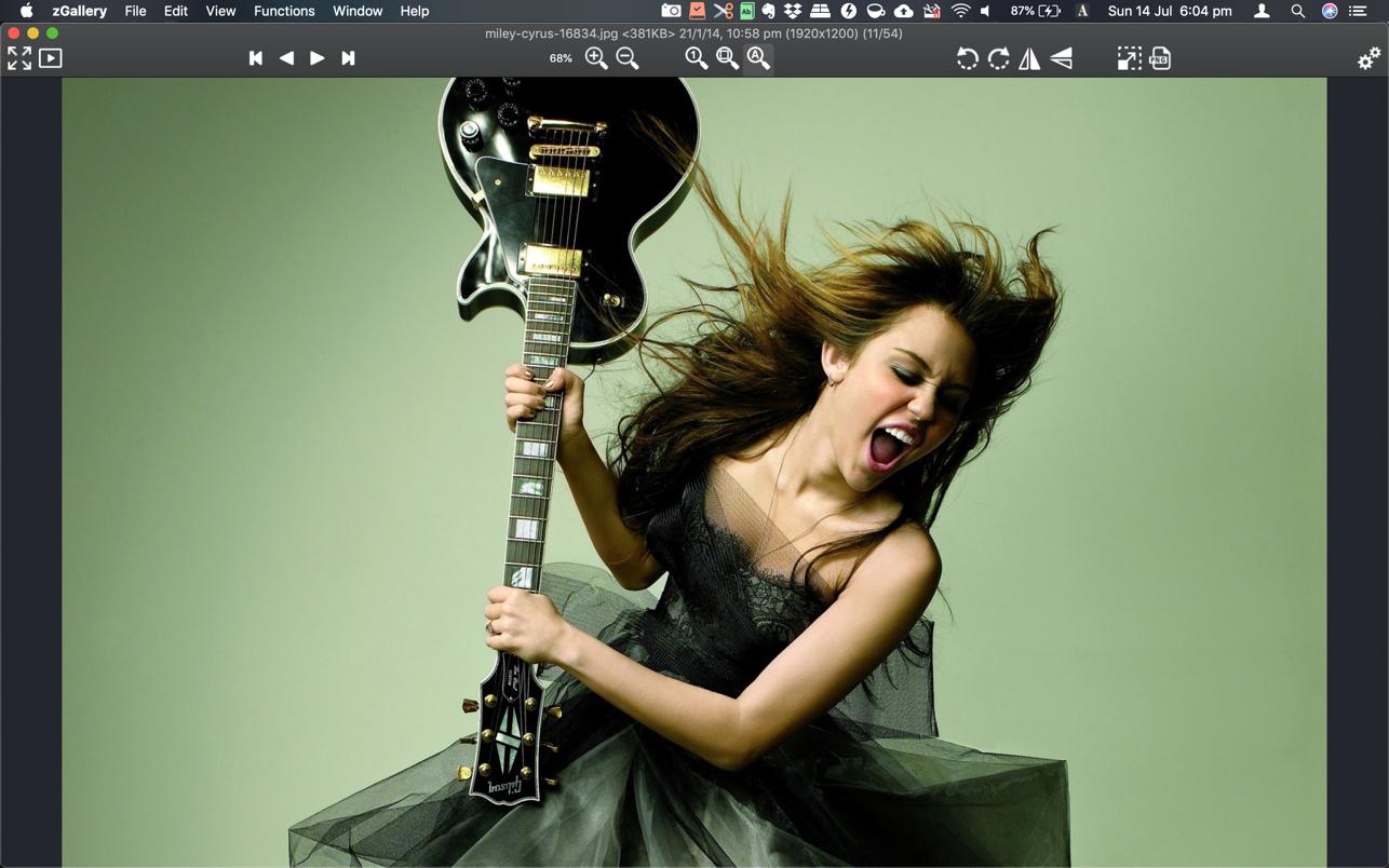 zGallery 4.51 Mac 破解版 优秀的图片浏览和管理工具
