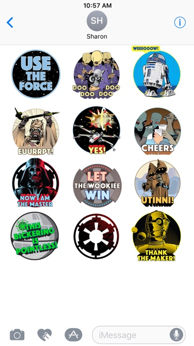Star Wars Stickers: 40th Anniv