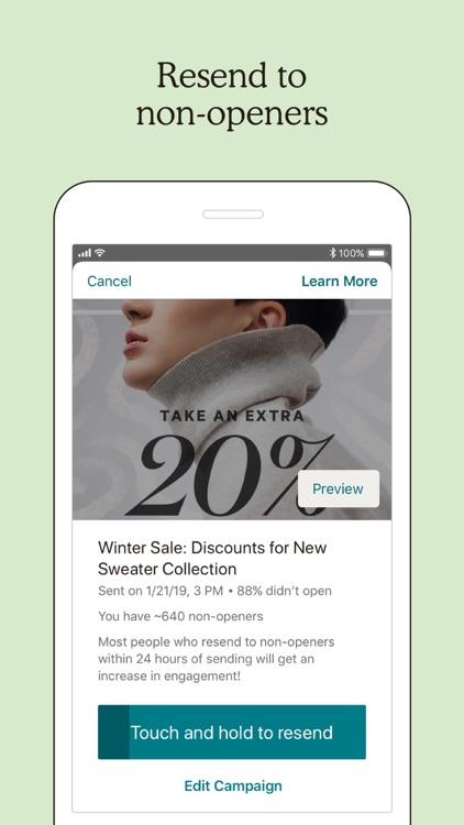 Mailchimp Marketing & CRM screenshot-4