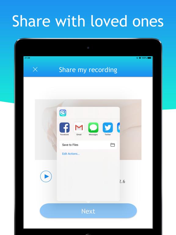 BabyScope - Listen to fetal heartbeat sound screenshot