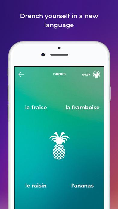 Screenshot for Drops Sprachen lernen in Germany App Store