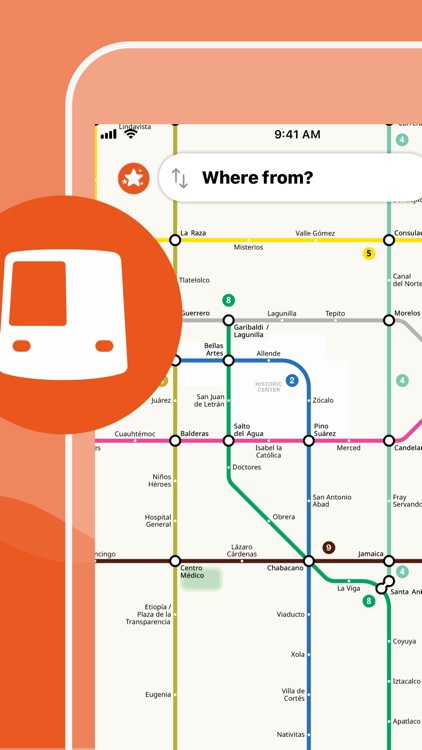 Mexico City Metro Map screenshot-0