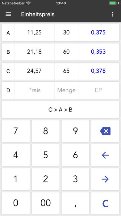 ClevCalc - RechnerScreenshot von 10