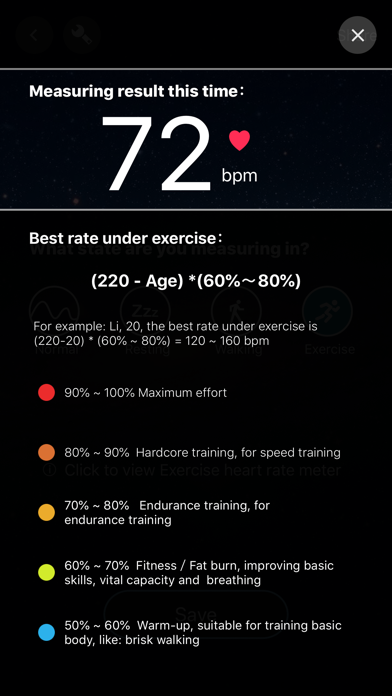Heart Rate Pro-Health  Monitor app image