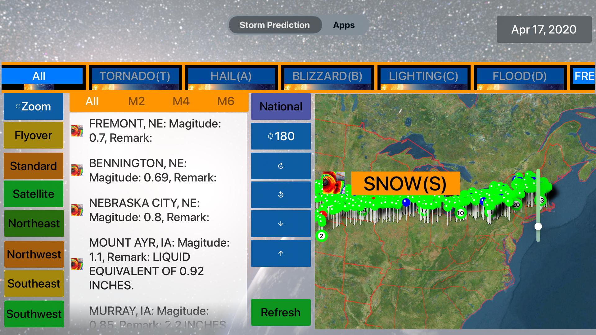 Instant NOAA Storm Lite screenshot 14